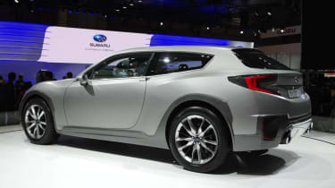 Subaru Cross Sport Design Concept apes BRZ shooting brake