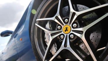 Ferrari California T star alloy wheel