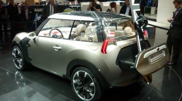 Geneva 2011: 94mpg Mini Rocketman concept