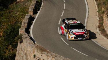 WRC Spain Ostberg helmet