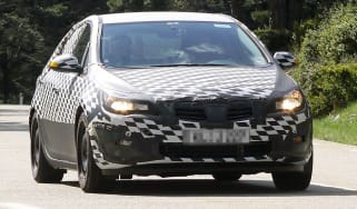 Vauxhall Astra spy shots