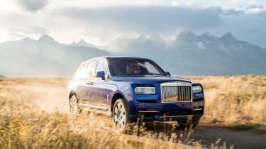 Rolls-Royce Cullinan wide