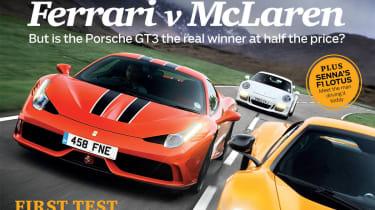 evo Magazine August 2014 - Ferrari v McLaren
