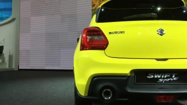 Suzuki Swift Sport frankfurt motor show