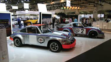 The Porsche Classic stand