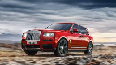 Rolls Royce Cullinan - front