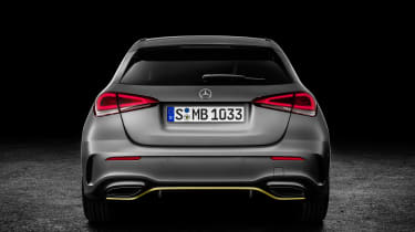 Mercedes-Benz A-class rear studio
