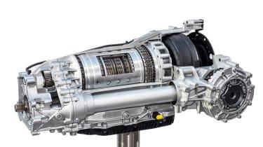 Porsche Cayenne eight-speed Tiptronic transmission