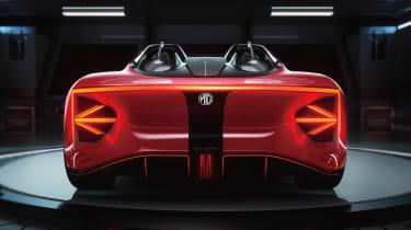 MG Cyberster Roadster - rear