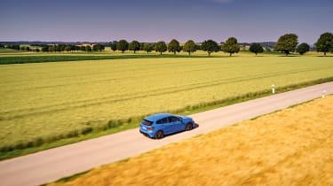 BMW M135i review 2019 - rear quarter