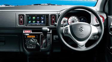 Suzuki Alto Turbo RS - interior