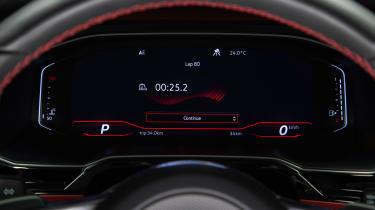 2018 VW Polo GTI – Dials