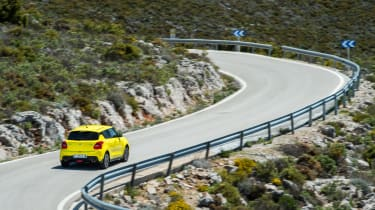 Suzuki Swift Sport – rear