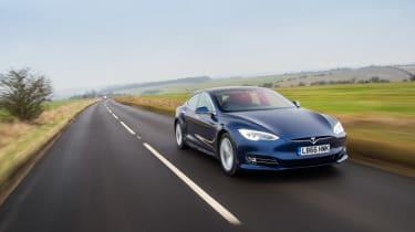 Tesla Model s P100D – front