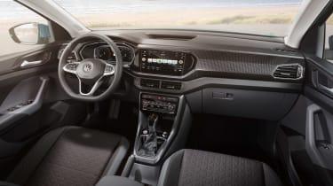 Volkswagen T-Cross revealed - dash