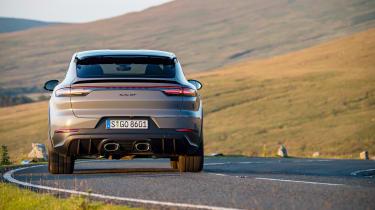 Porsche Cayenne Turbo GT – tail