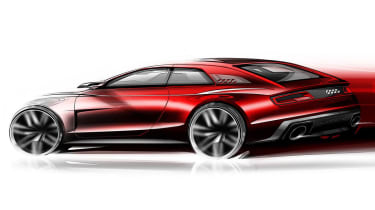 Audi Quattro concept coupe styling