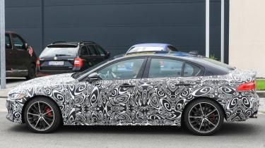 Jaguar XE R - side profile