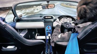 Renault Sport Spider interior