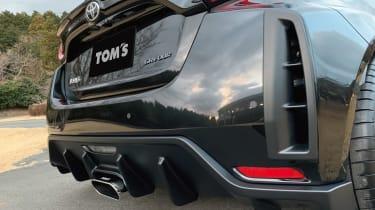 TOM'S Racing Toyota GR Yaris rear close