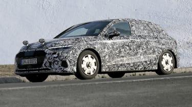 Audi A3 spy 2019 - side
