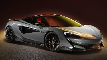 McLaren 600LT revealed - front quarter light