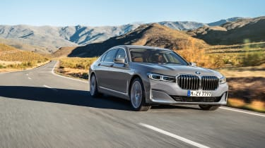 2019 BMW 7-series - hero