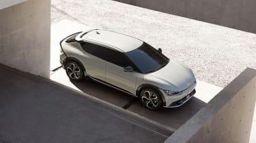 Kia EV6 revealed - top