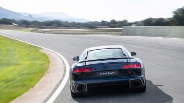 Audi R8 facelift review - rear