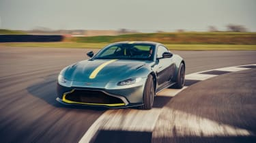 Aston Martin Vantage AMR revealed - front