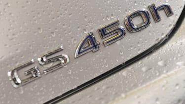 2012 Lexus GS450h F Sport badge