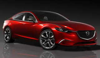 New Mazda Takeri sports saloon