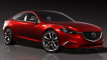 New Mazda Takeri sports saloon