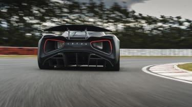 Lotus Evija testing – rear cornering