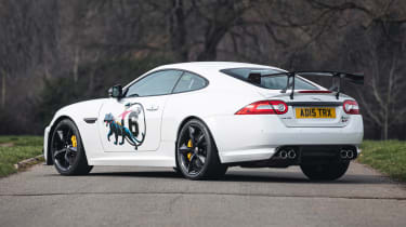 Silverstone Auctions - Jag XKR-S GT rear