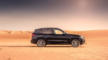 BMW X3 30d M Sport - profile