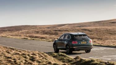 Bentley Bentayga Diesel - rear three quarter