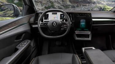 Renault Megane E-Tech Electric - dash