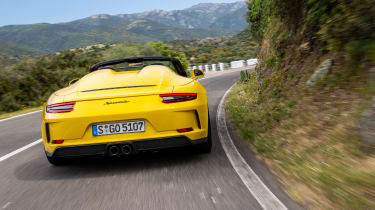991.2 Porsche 911 Speedster - rear