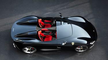 Ferrari Monza SP1 - top down