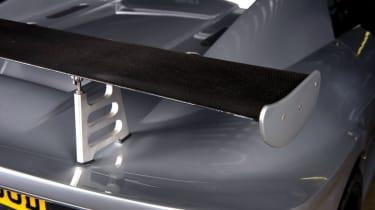 Noble M12 GTO rear spoiler carbon fibre