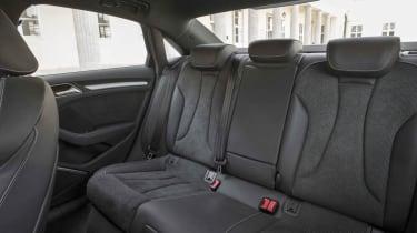 2013 Audi A3 Saloon rear seats space