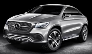 Mercedes Concept Coupe SUV shown