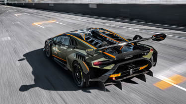 Lamborghini Huracán Super Trofeo Evo 2 – rear tall