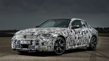 BMW M240i prototype – front quarter