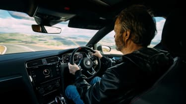VW GTI TCR vs Megane RS Trophy - interior