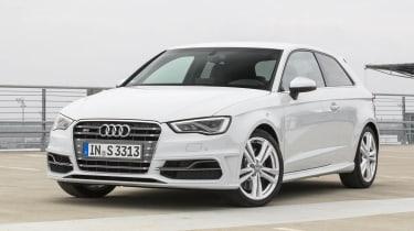 2013 Audi S3 white front