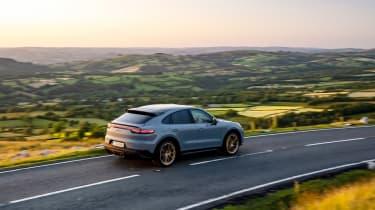 Porsche Cayenne Turbo GT – rear quarter