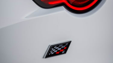 Jaguar F-Type Chequered Flag edition - badge
