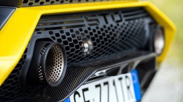 Lamborghini Huracan STO CP – exhaust